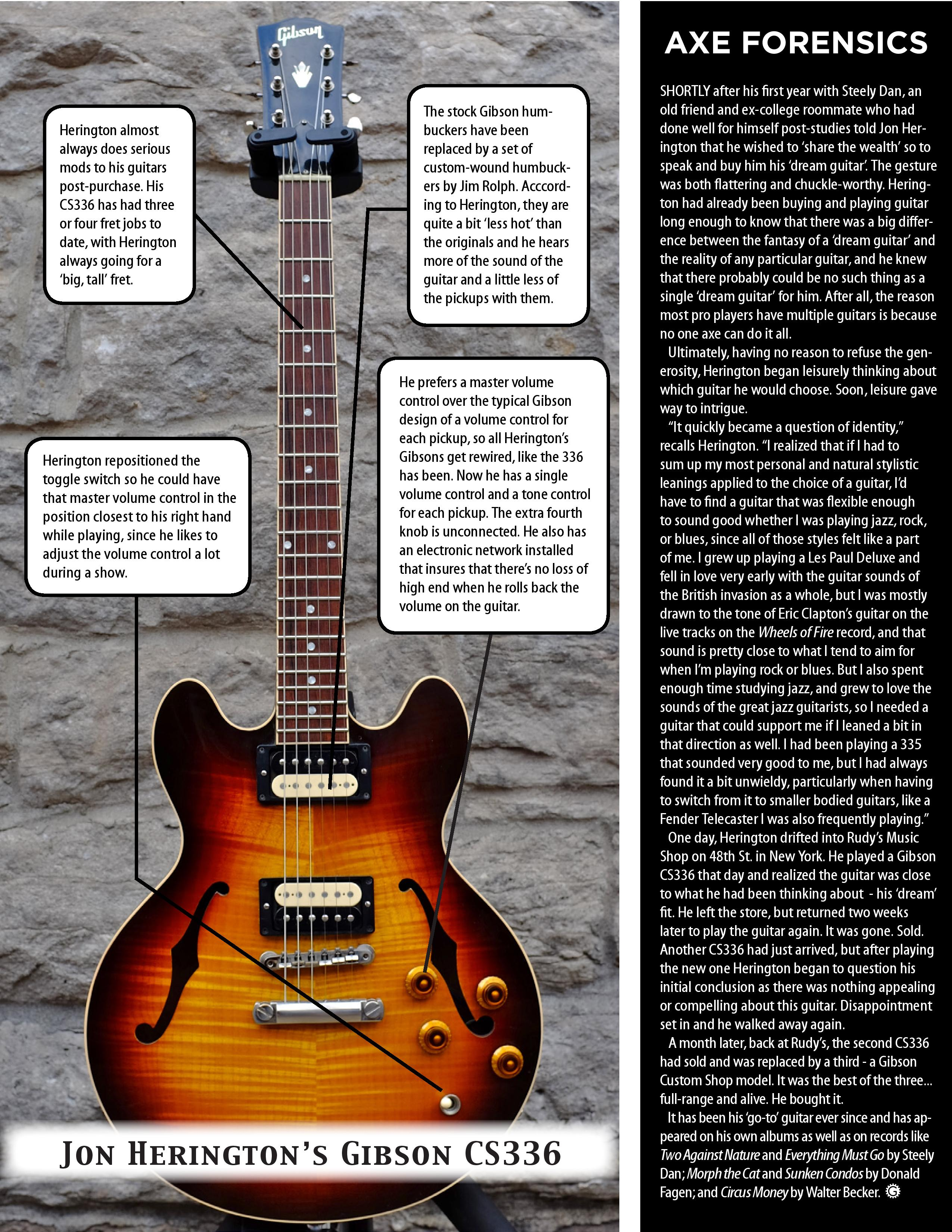 I ALSO USE AND ENJOYa Collings 290 DC electric guitar with mini humbuckers Ernie Ball Classic Pure Nickel Regular Slinky strings many pedal effects by
